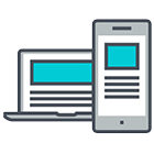 responsive designing icon